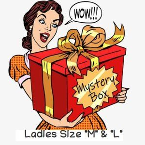 Ladies Mystery Surprise Box Clothing Gift Size M&L